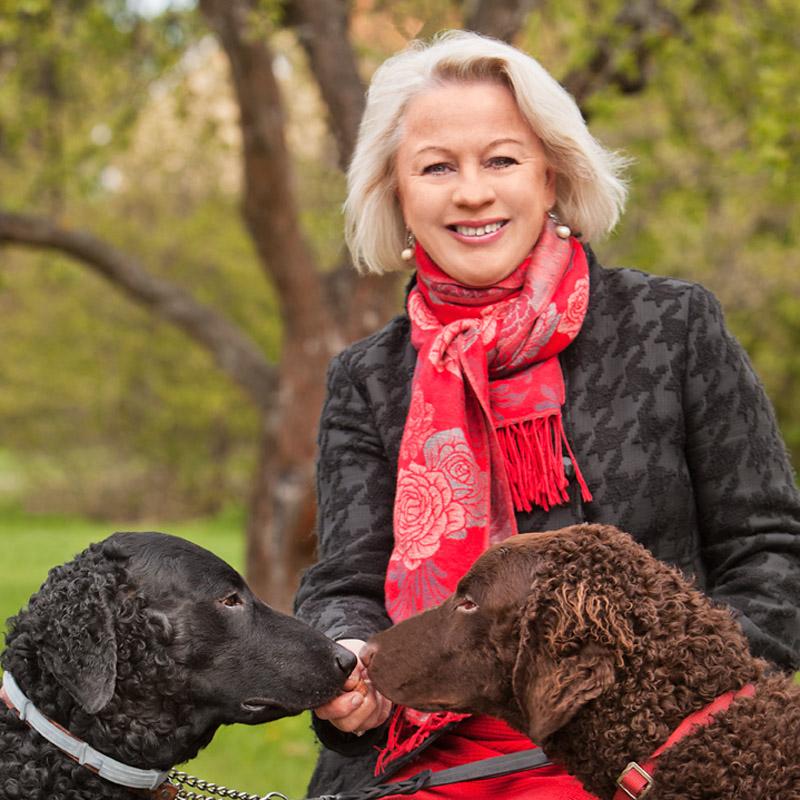 Birgitta Sköld - nyvald gruppledare i Lidingöpartiet