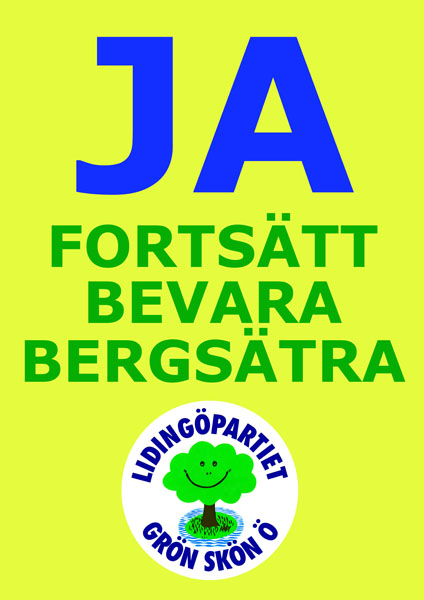Forts bevara Bergsätra L